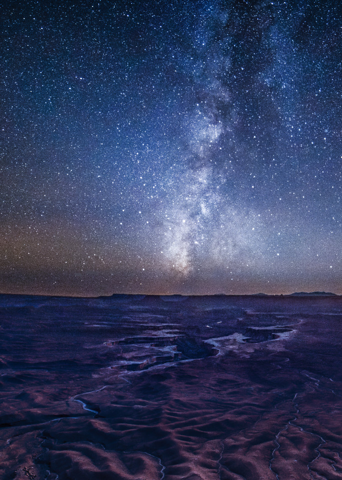 Milky Way over Canyonlands photography