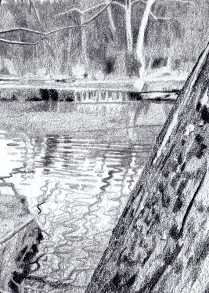 Falling Water, Drawings, The Art of Max Voss-Nester