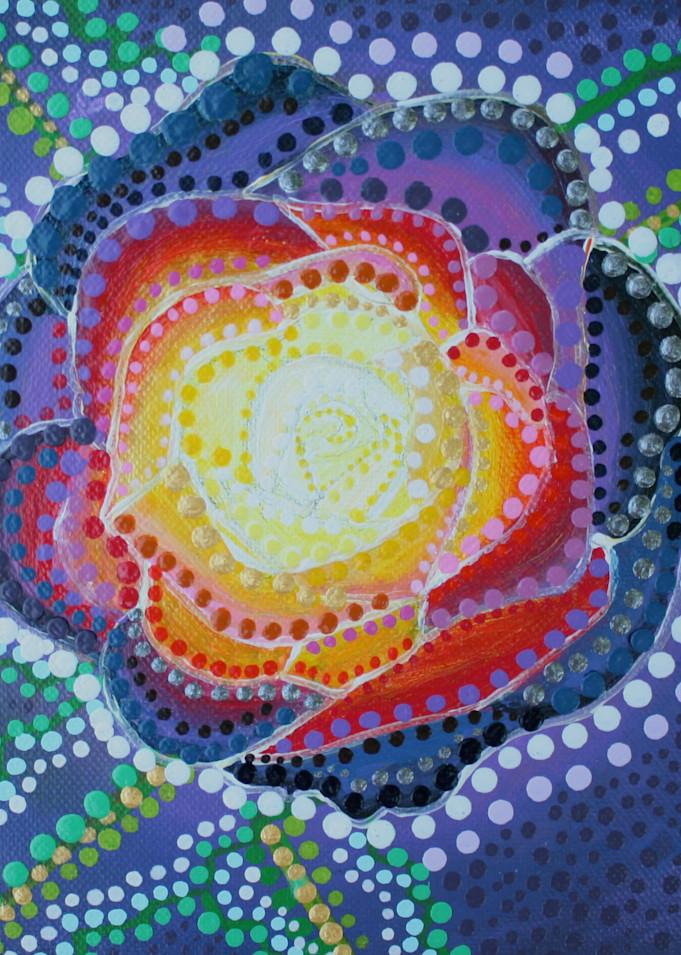 Rosey Rose Print
