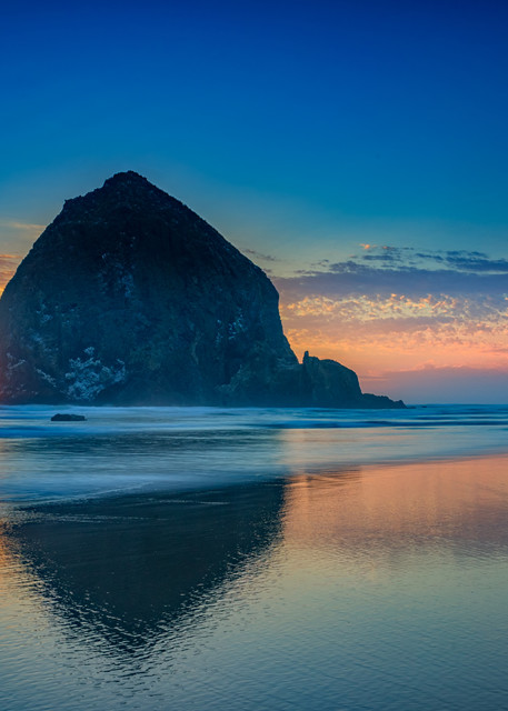 Day's End in Cannon Beach by Rick Berk