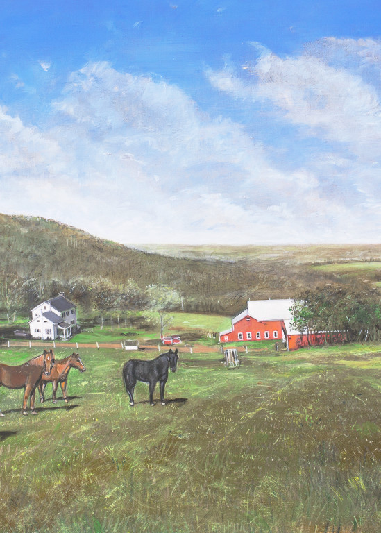 Townsend Farm Art   Sandy Garnett Studio