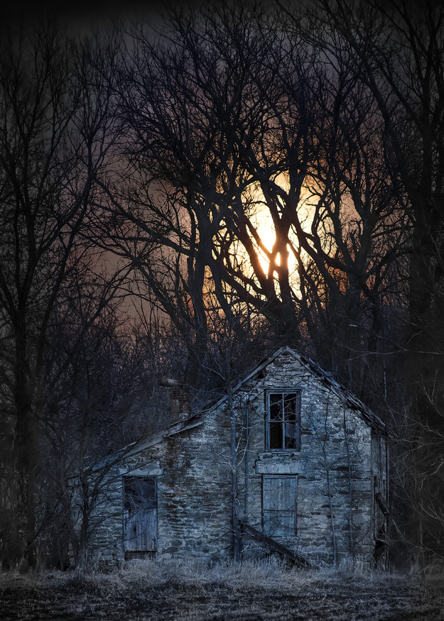 Americana-color: Supernatural, fine art color photograph by artist and photographer, David Zlotky