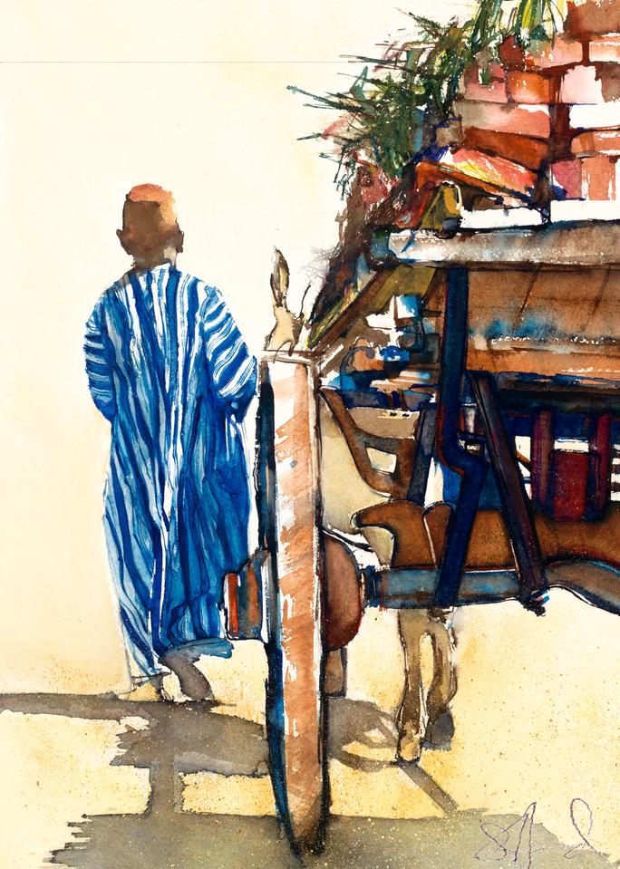 Man With A Cart Art | 5218 McCarty Lane Unit A