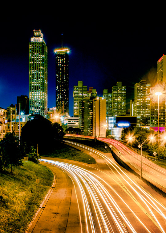 Atlanta downtown skyline photography