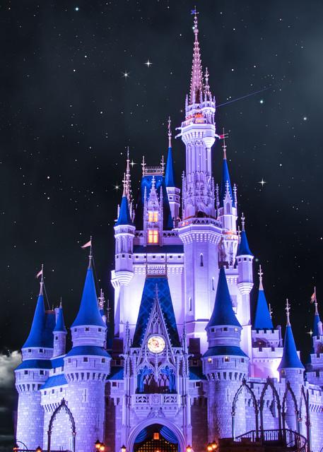 Cinderella White Moon - Disney Wall Prints | William Drew
