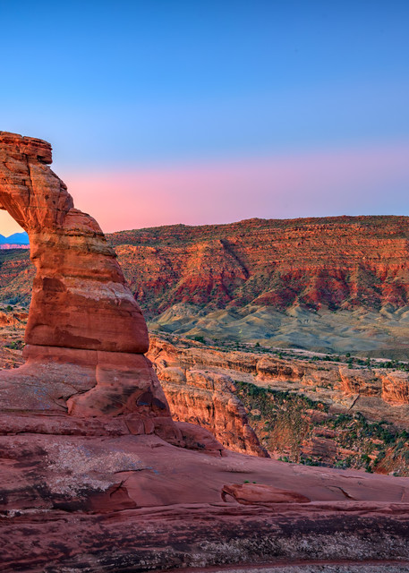 Dawn at Delicate Arch | Shop Photography by Rick Berk