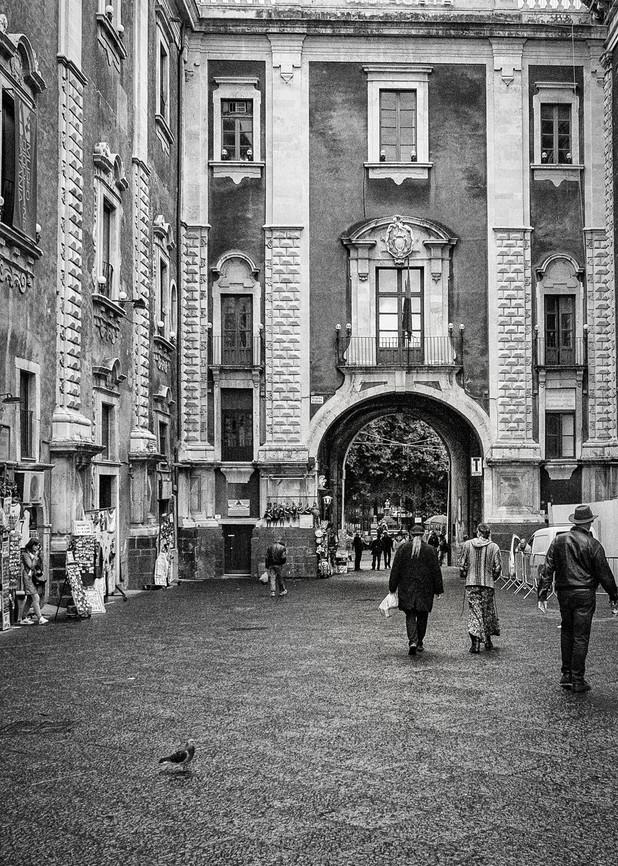 Leaving Piazza Duomo Art | monroepayne