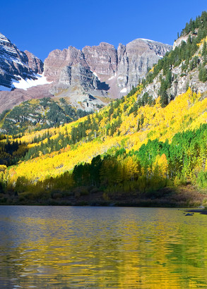 Autumn Sunrise, Colorado Rockies Photography Art | Josh Kimball Photography