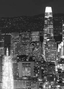 Nightfall Skyline by Josh Kimball Photography