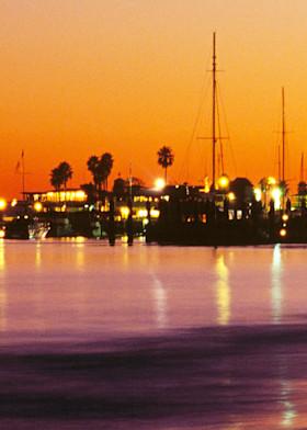 Santa Barbara Harbor by Josh Kimball Photography