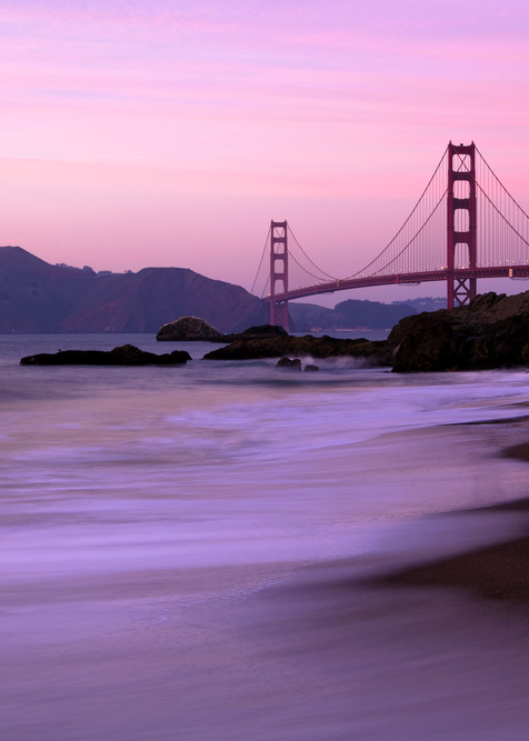 Sunset From Baker Beach by Josh Kimball Photography