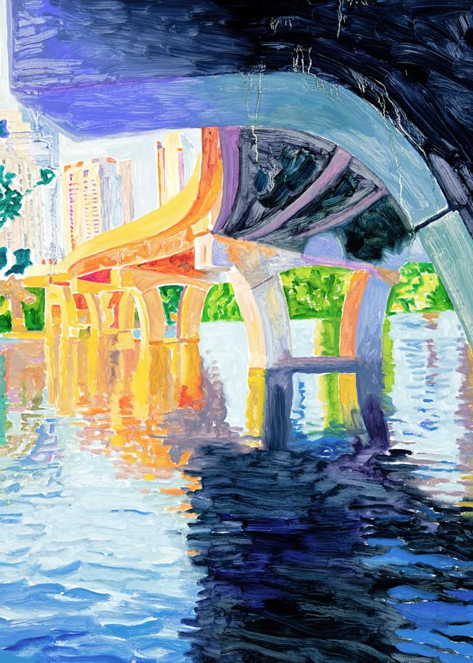 Reflections of a Bridge, Austin Art, The Art of Max Voss-Nester