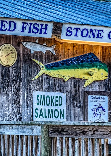 Cortez Fish Market Art   Artist David Wilson
