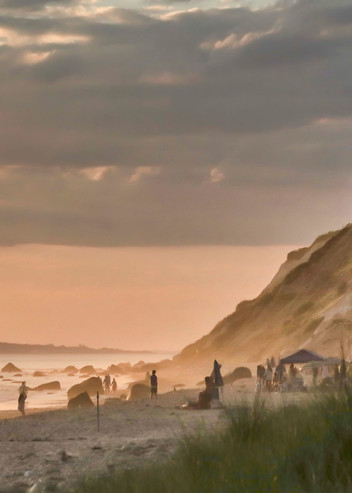 Gay Head Cliffs Sultry Evening Art | Michael Blanchard Inspirational Photography - Crossroads Gallery
