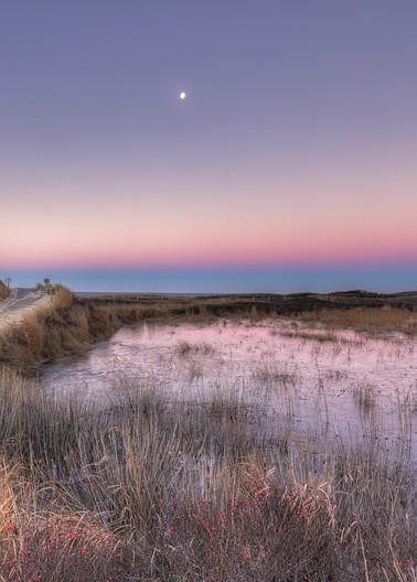 Moshup Beach Moonrise Art | Michael Blanchard Inspirational Photography - Crossroads Gallery