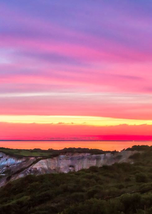 Gay Head Light Magenta Sunrise Art | Michael Blanchard Inspirational Photography - Crossroads Gallery