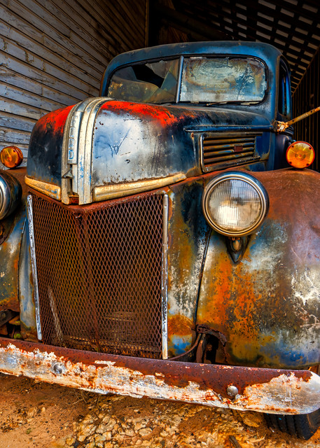 1940s Ford truck photography