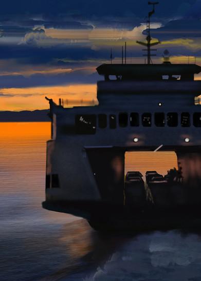 Sound Ferry Art   Dave Fox Studios