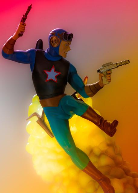 Buck Rogers Color Photography Art   Nathan Larson Photography