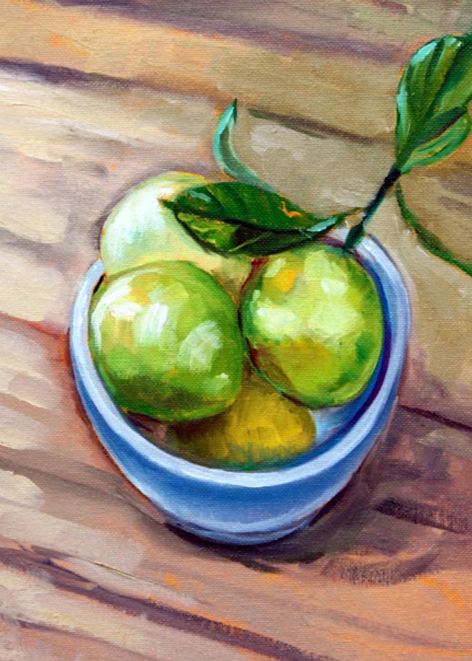 Lemony Fine Art Open Edition Print by Hilary J. England
