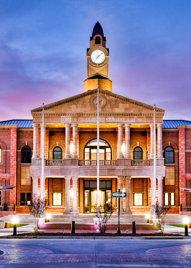 Roanoke Town Hall 8 Surrealistic Photography Art | Drone Video TX
