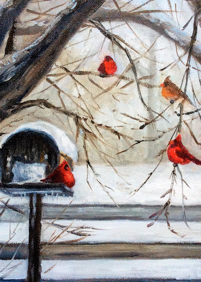 The Cardinal Convention fine art print by Hilary J. England