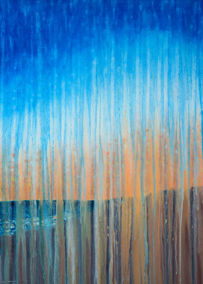Rainy Sunrise At Race Point Beach By Rachel Brask Art | Rachel Brask Studio, LLC