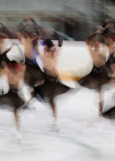 Haydenettes Short Program 2019 Abstract Twizzles Photography Art | Katherine Gendreau Photography