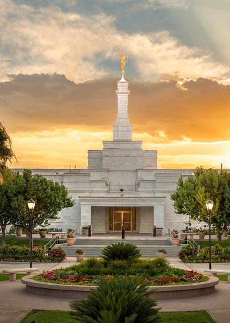 Ciudad Juarez Temple - Sunset