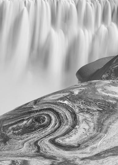 Swirl Falls Art   Jesse McLaughlin Photography