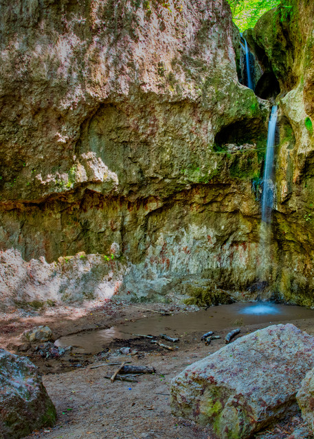 Clark Creek Waterfall No. 5 photography