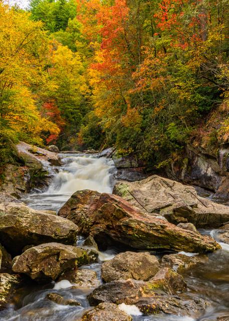 Autumn On The Cullasaja River Photography Art   Andy Crawford Photography - Fine-art photography