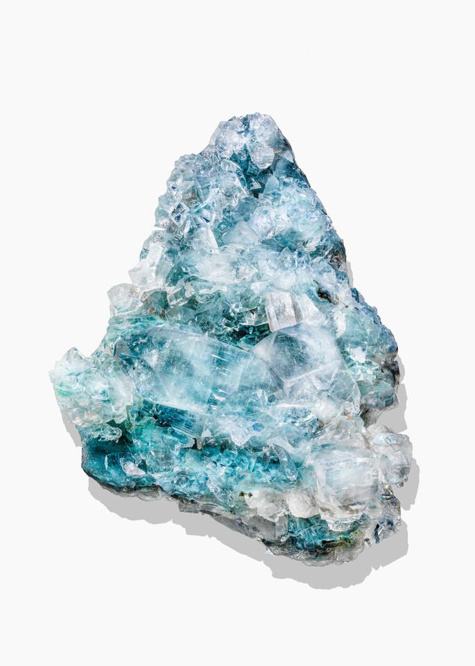 Timothy Hogan Aqua Crystal print