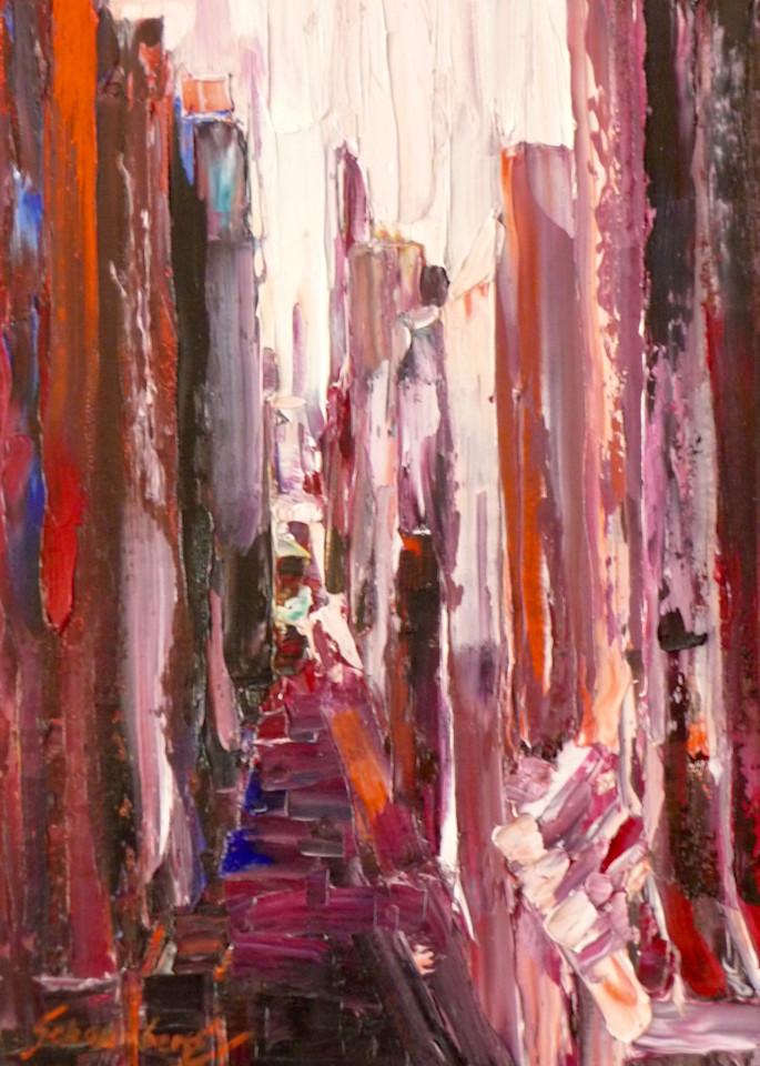 Red Chicago by Debra Schaumberg   ART