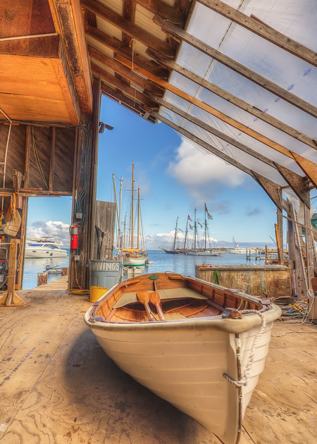 Gannon & Benjamin Boatyard Art | Michael Blanchard Inspirational Photography - Crossroads Gallery