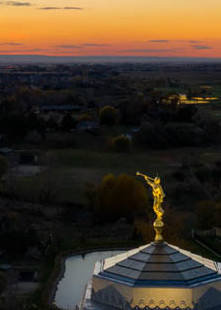 Meridian Temple - Panorama from Above