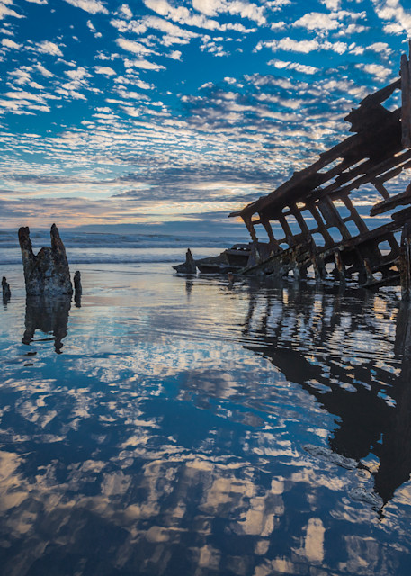 Peter Iredale in Blue