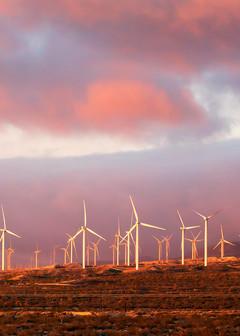Windfarm Sunrise Photography Art | Josh Kimball Photography