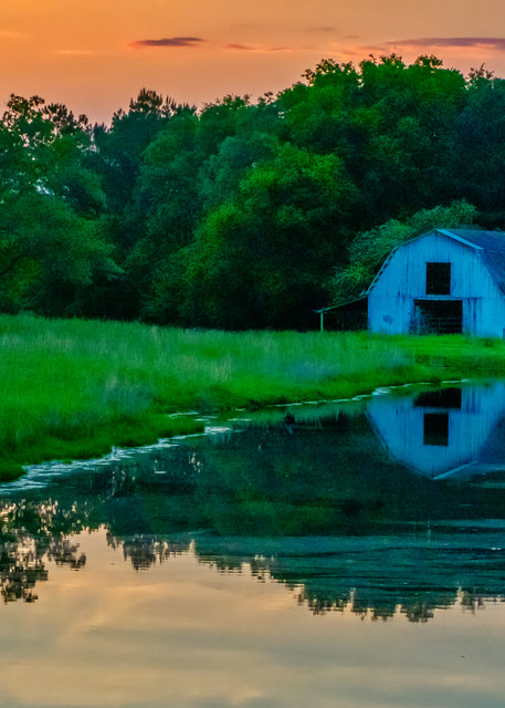 Alabama farm photography print