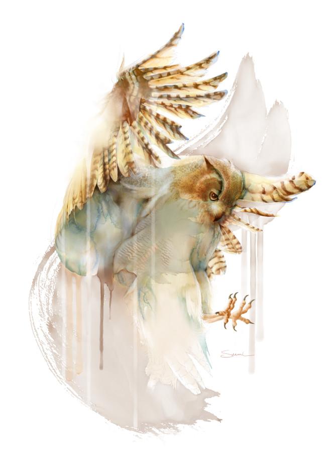 Stunning Owl Artwork