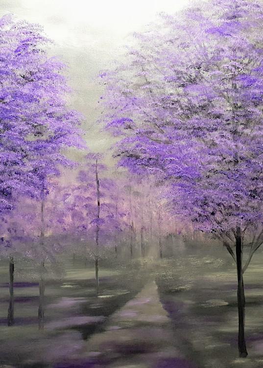 Shades Of Purple Art | Artist Ron Turner