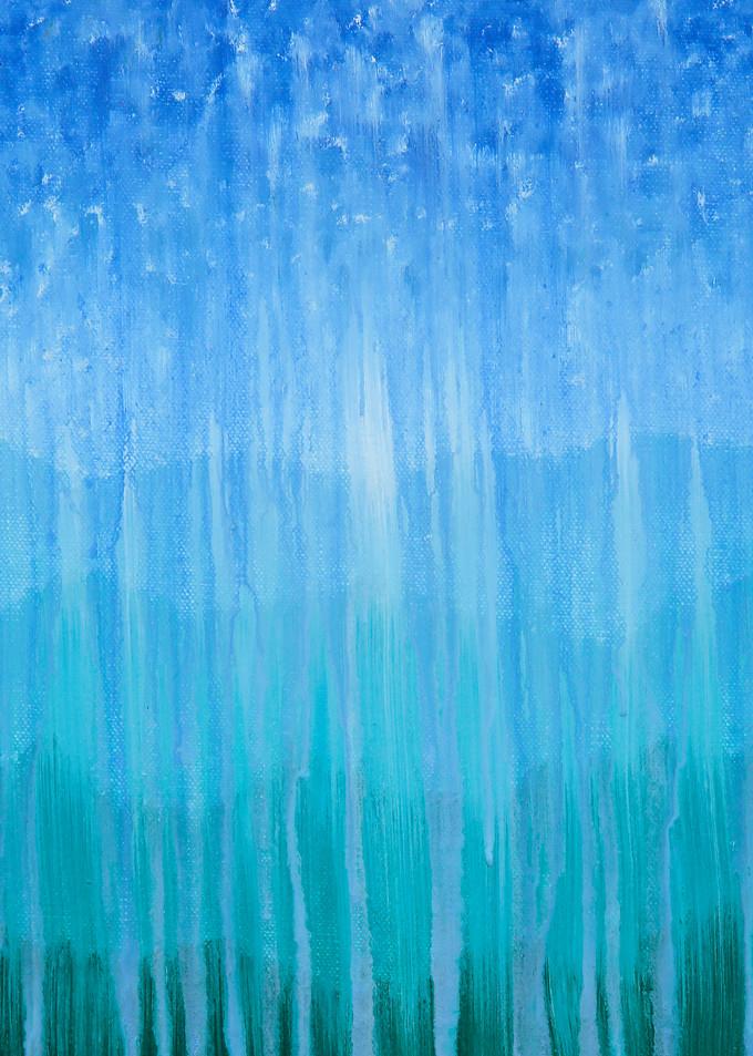 Forested Mountain Rain Ii Art | Rachel Brask Studio, LLC