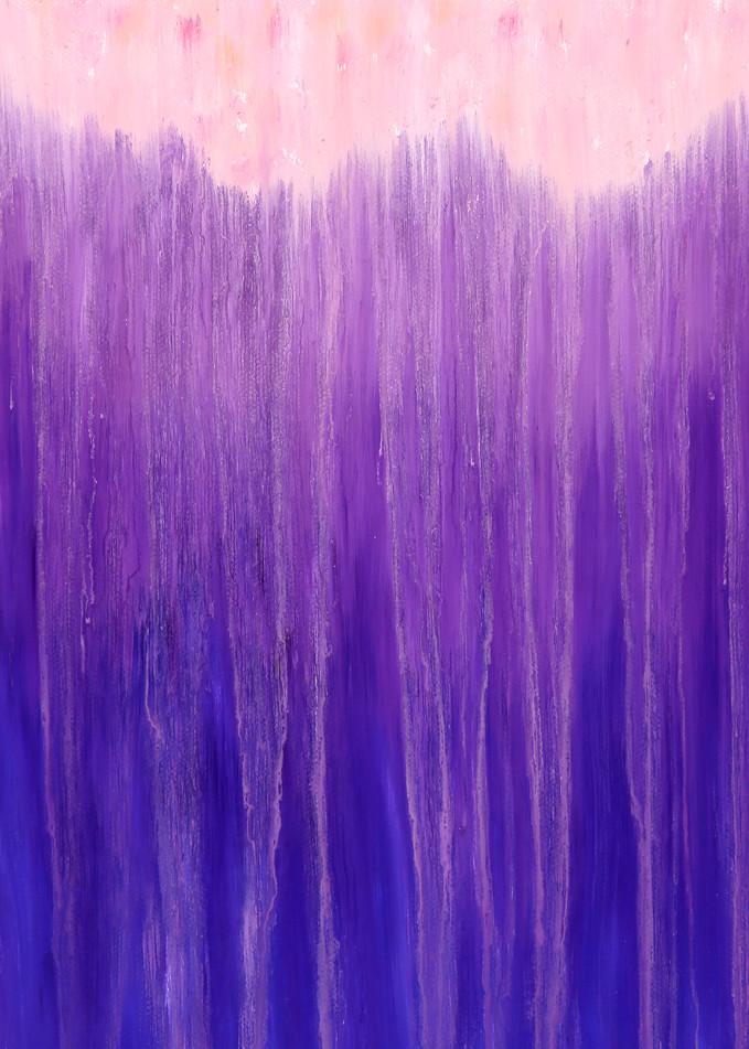 Mountains Of Purple Rain Ii By Rachel Brask Art   Rachel Brask Studio, LLC