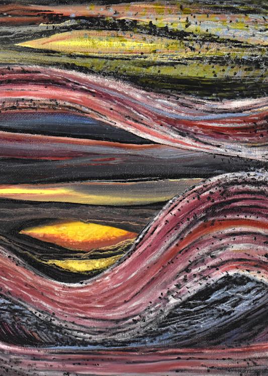 Sunset Art | Amy O'Hearn Art