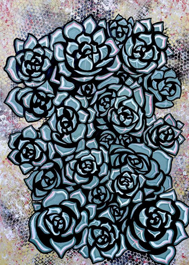 Rosettes 300dpi Art | Amy O'Hearn Art