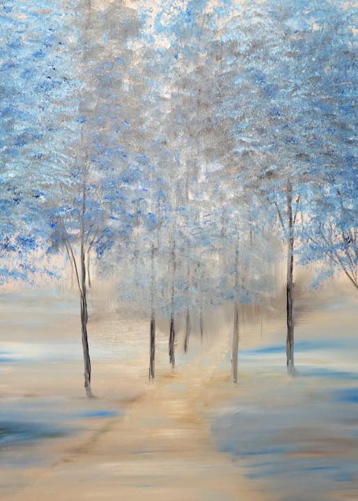 Reflections Of Blue Art | Artist Ron Turner