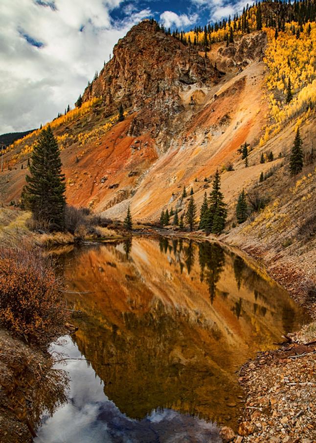 Mountain Reflection9055   Colorado Photography   Koral Martin Fine Art Photography