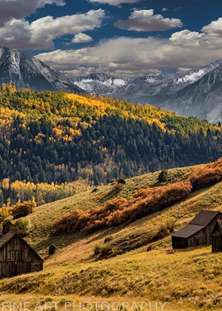 Golden Rule - Old Colorado School 4912 | Colorado Photography | Koral Martin Fine Art Photography
