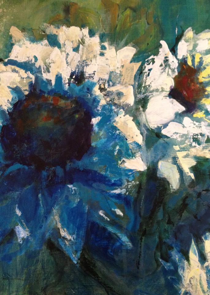 Blues In The Garden Art | PoroyArt