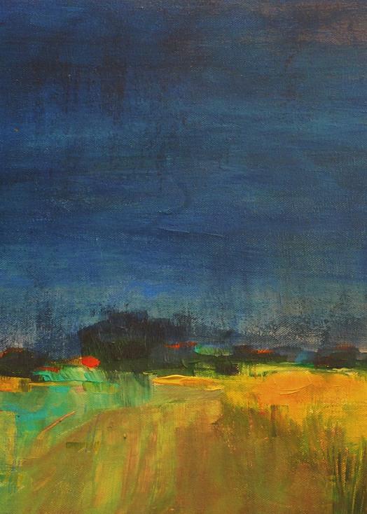 Mustard Field 2 Art | PoroyArt